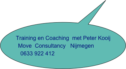 Training en Coaching  met Peter Kooij        